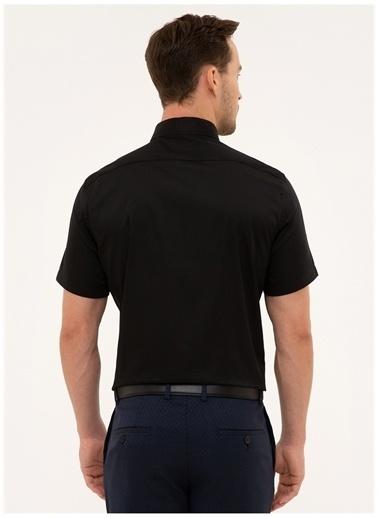 Pierre Cardin Pierre Cardin Gömlek Siyah